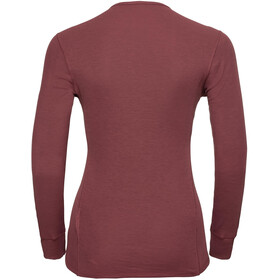 Odlo Active Originals Warm Undertøj Damer, roan rouge